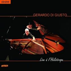 Gerardo Di Giusto - Live à l'héliotrope (CD & DVD)