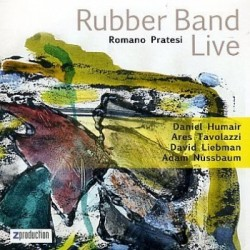 Romano Pratesi Rubber Band - Rubber Band Live (CD)
